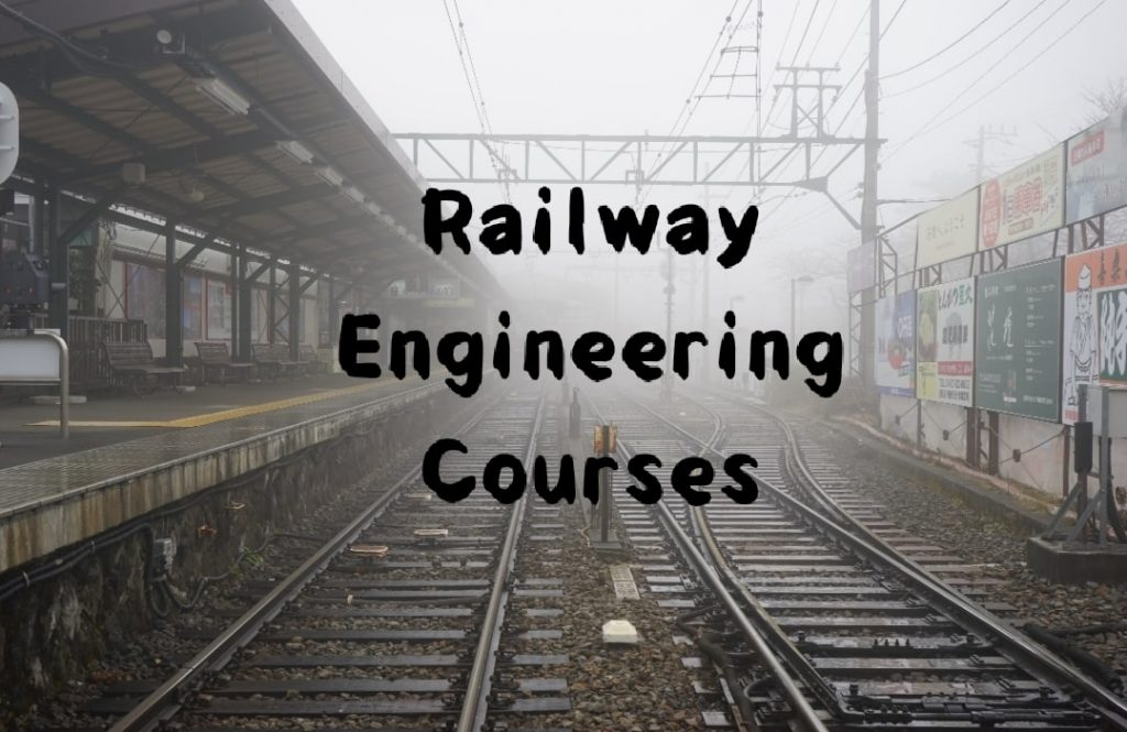 railway engineering courses after 12th